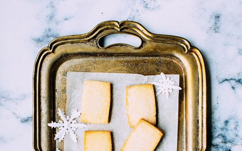 Recipe: Quick and Easy Christmas Shortbread