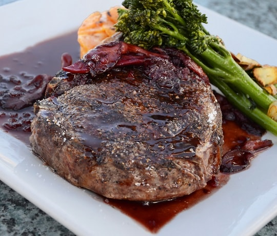 Recipe: Red Wine & Mushroom Sauce