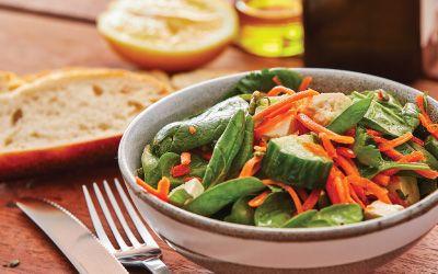 Gourmet side salad