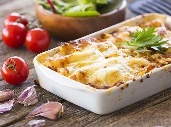 Traditional lasagne